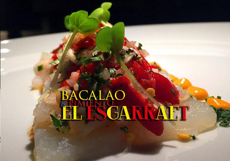 Esgarraet o esgarradet: ensalada de bacalao