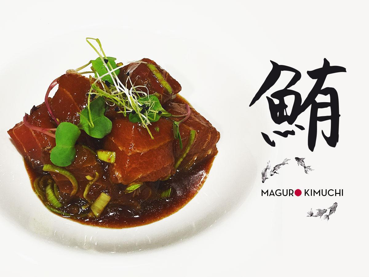 maguro kimuchi atún picante koketo