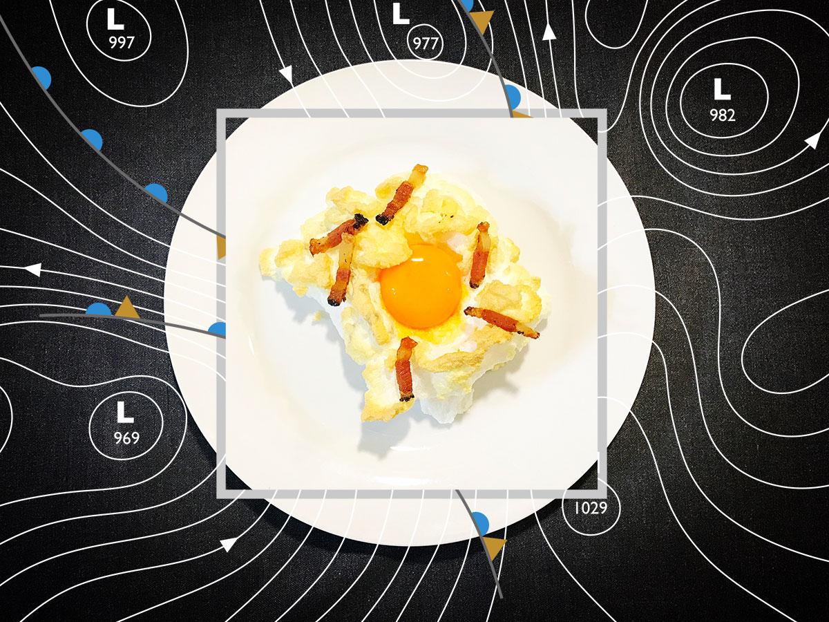 Los huevos nube y las modas de instagram de oca o de corral