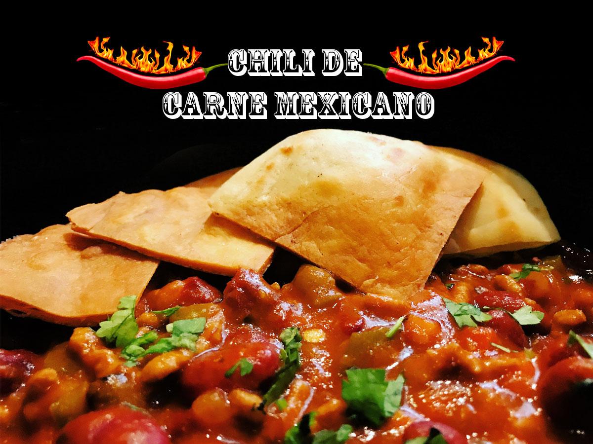 Chili de carne mexicano. koketo