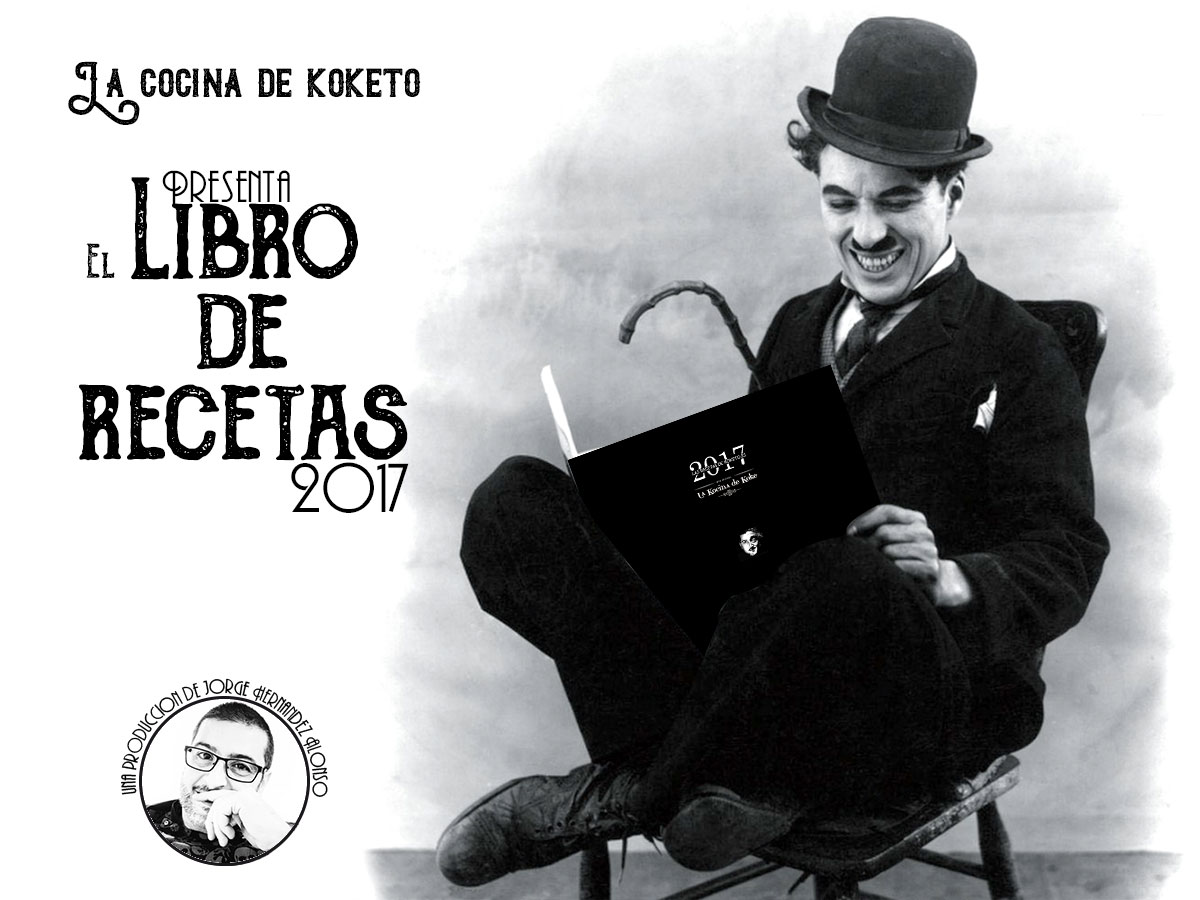 Libro de recetas de la Cocina de koketo. Chef koketo. Jorge Hernández Alonso.