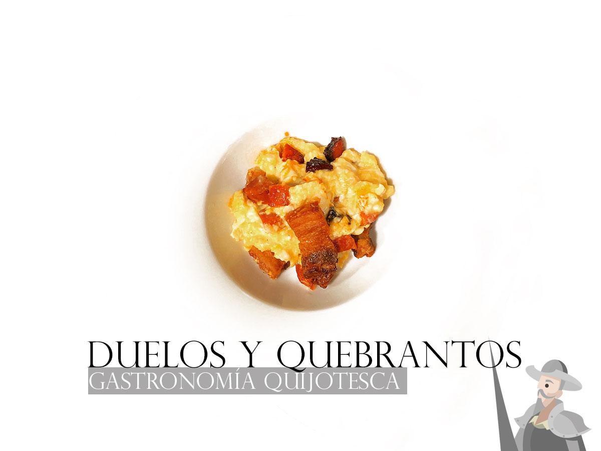 Duelos y quebrantos. Gastronomía del quijote. Chef Koketo