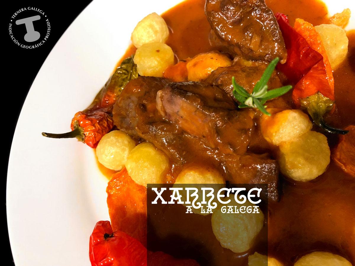 Xarrete a la galega chef Koketo