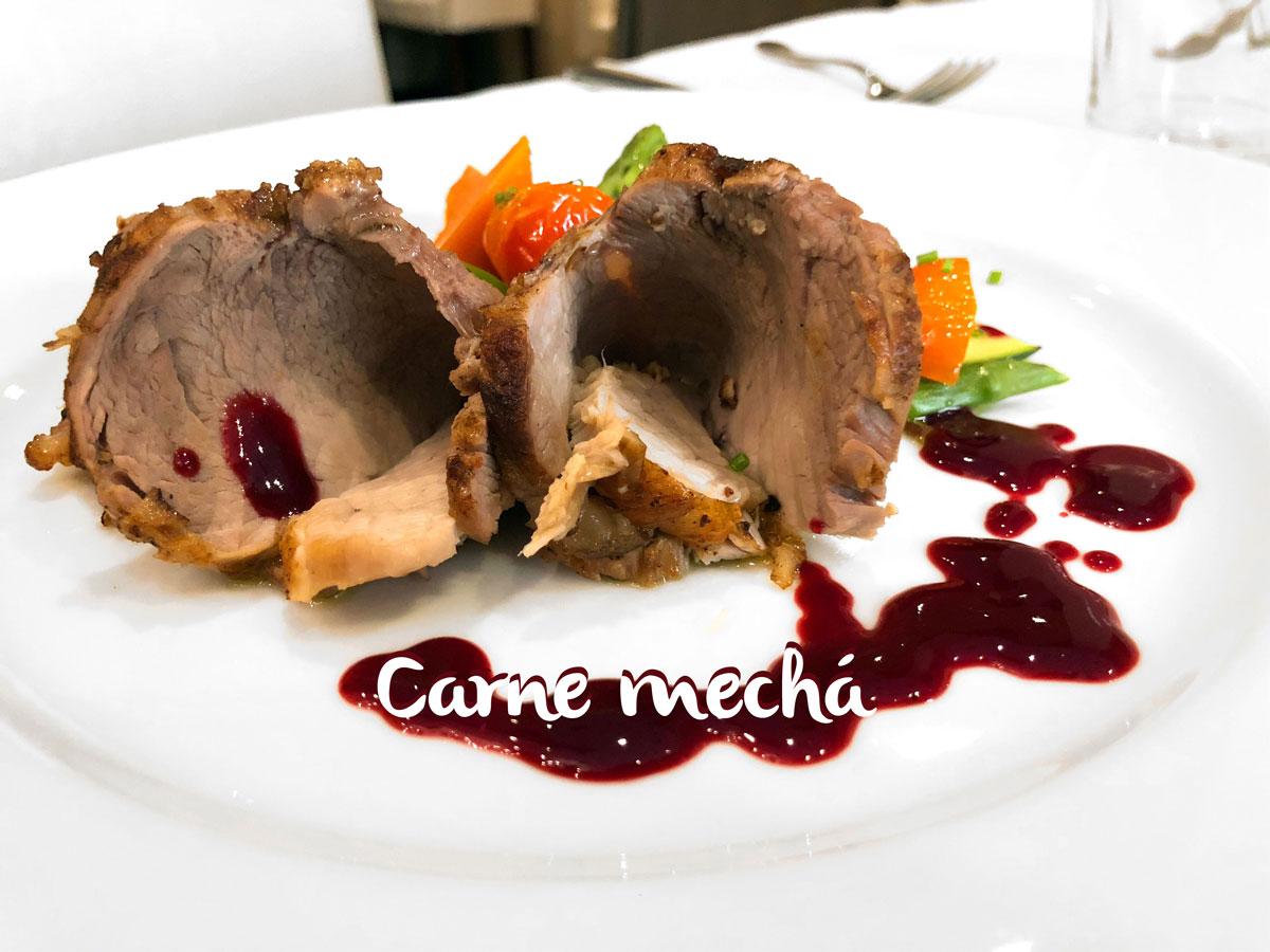Carne Mechá o carne mechada. Chef Koketo.