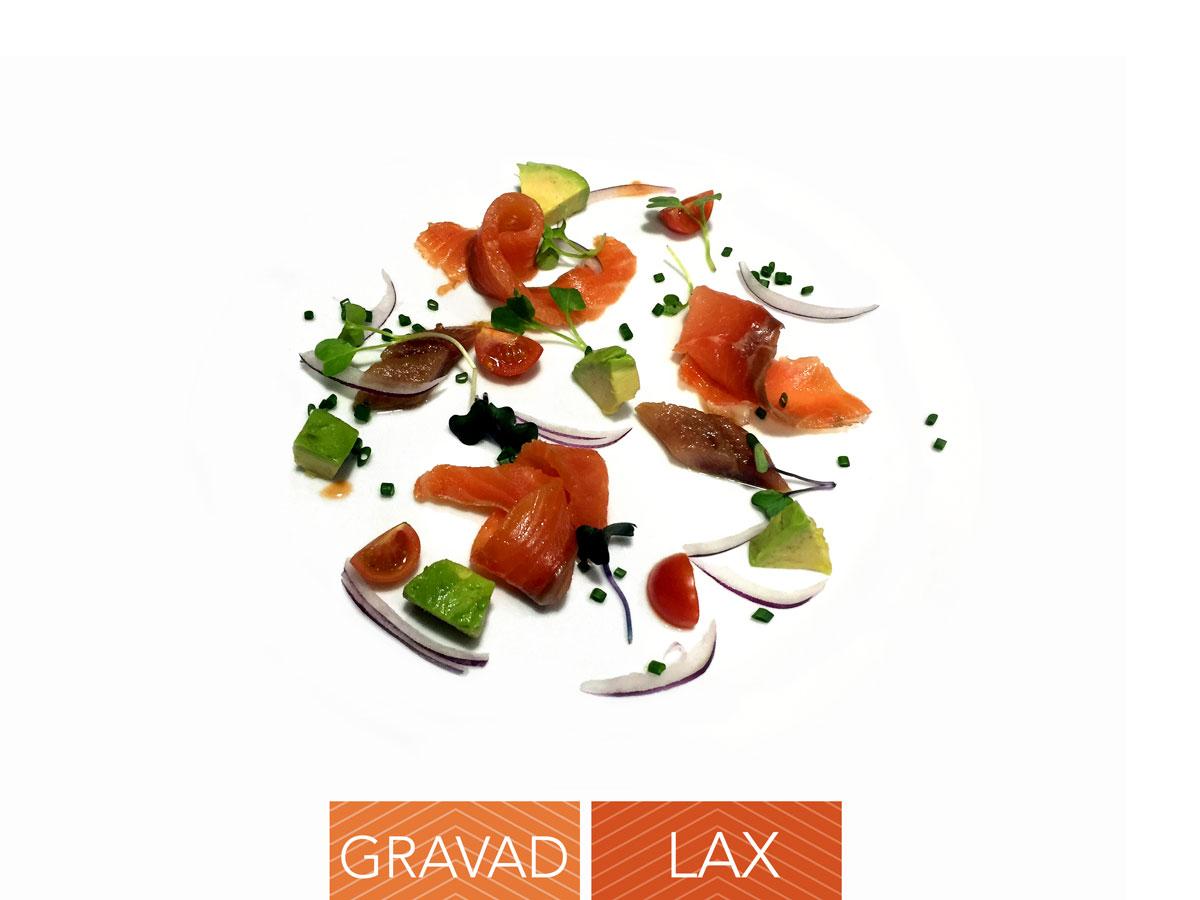 Gravad lax Chef Koketo