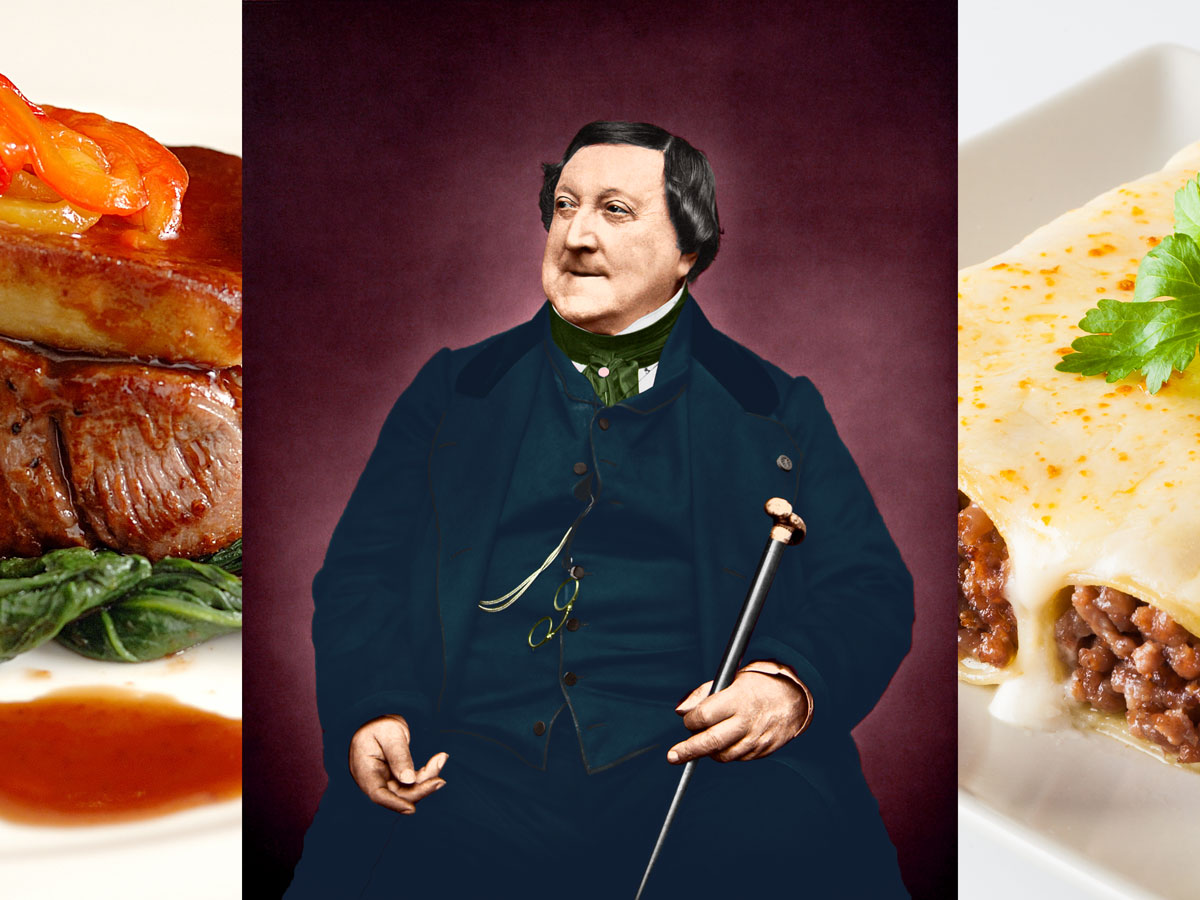 Rossini. Chef Koketo
