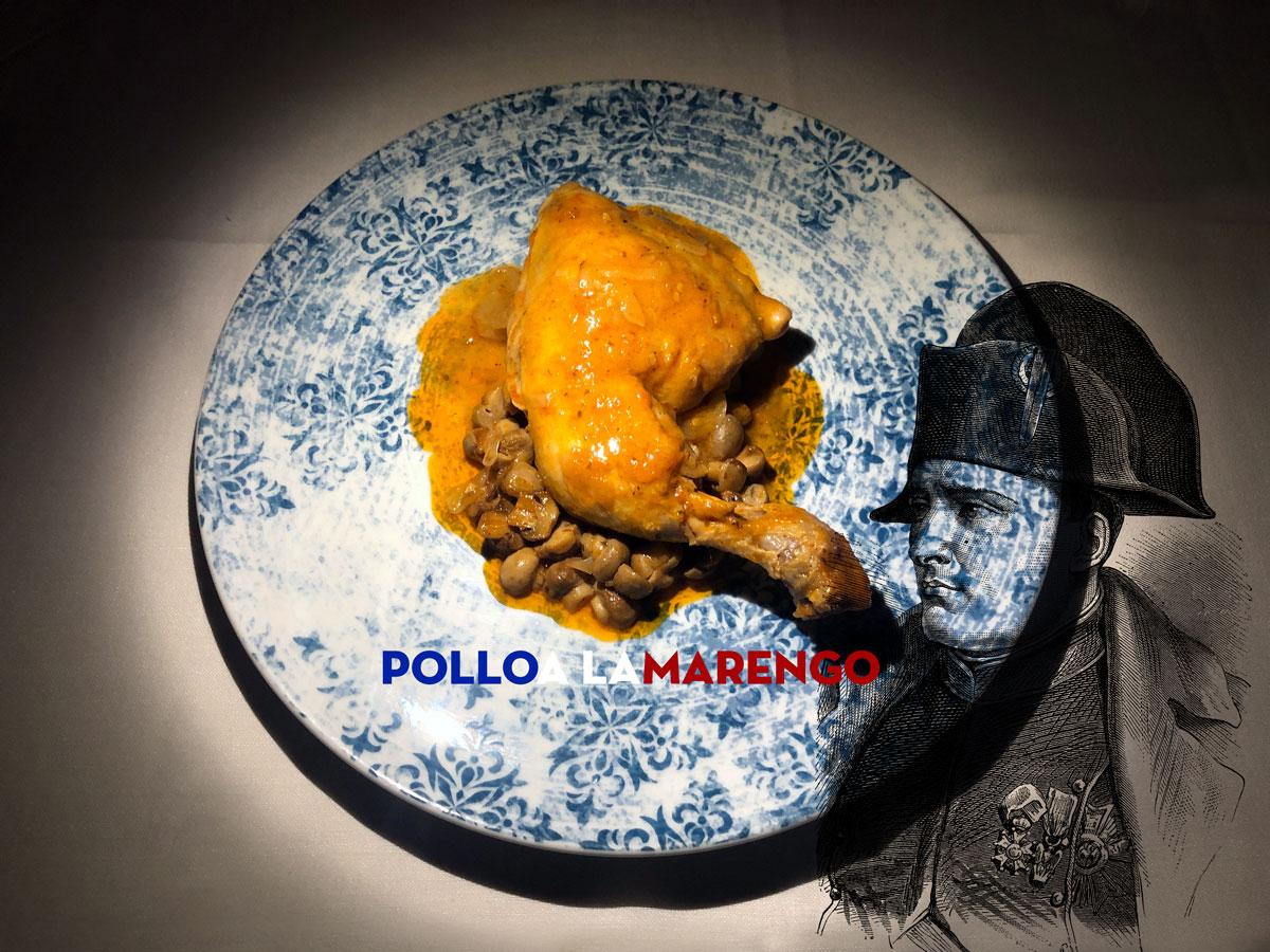 Pollo a la marengo chefkoketo