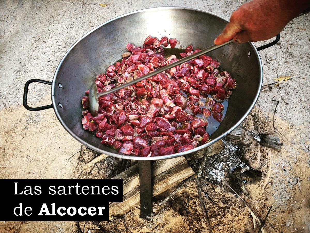 Las sartenes de Alcocer