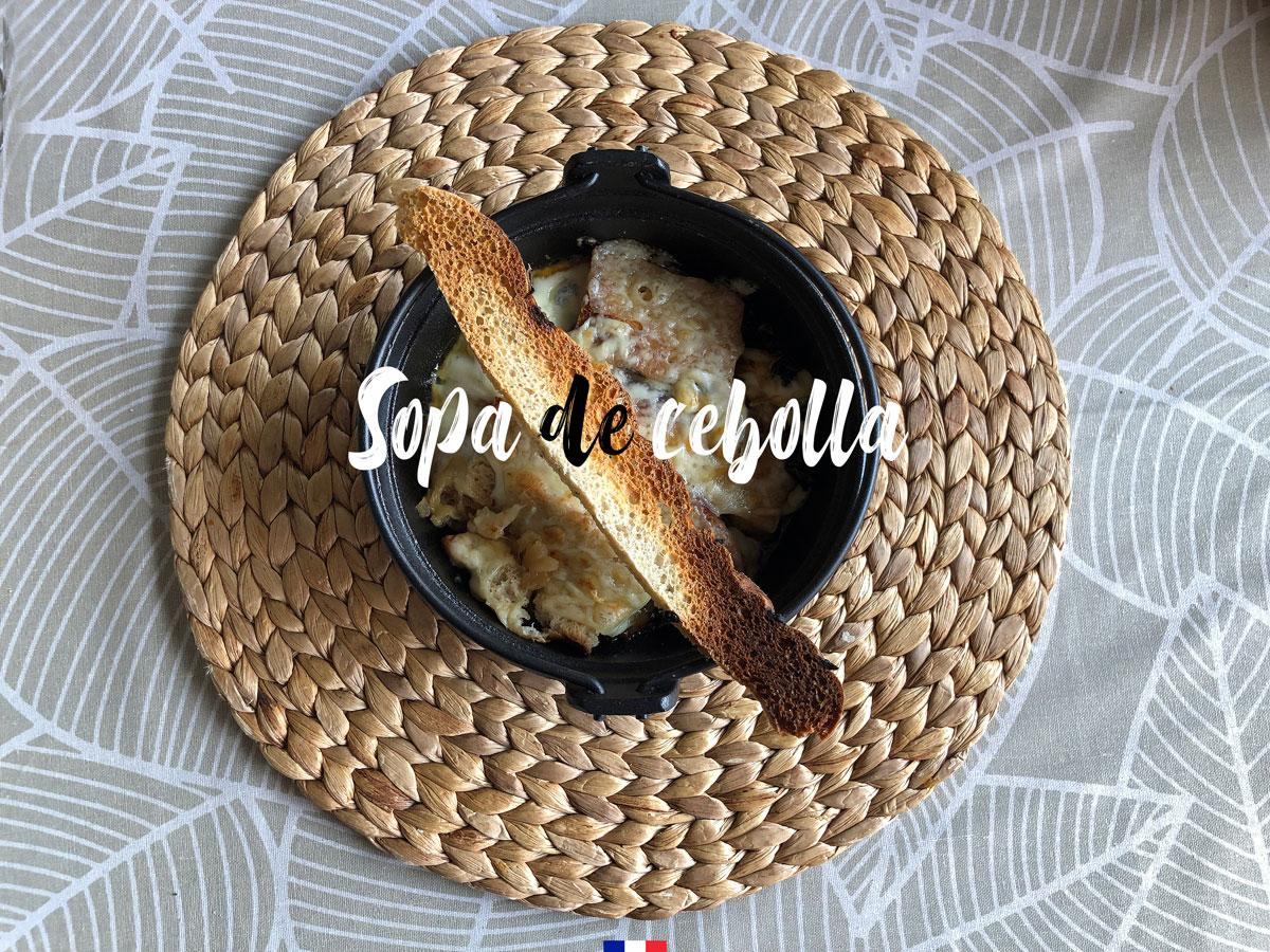 Sopa de cebollas. Chef koketo