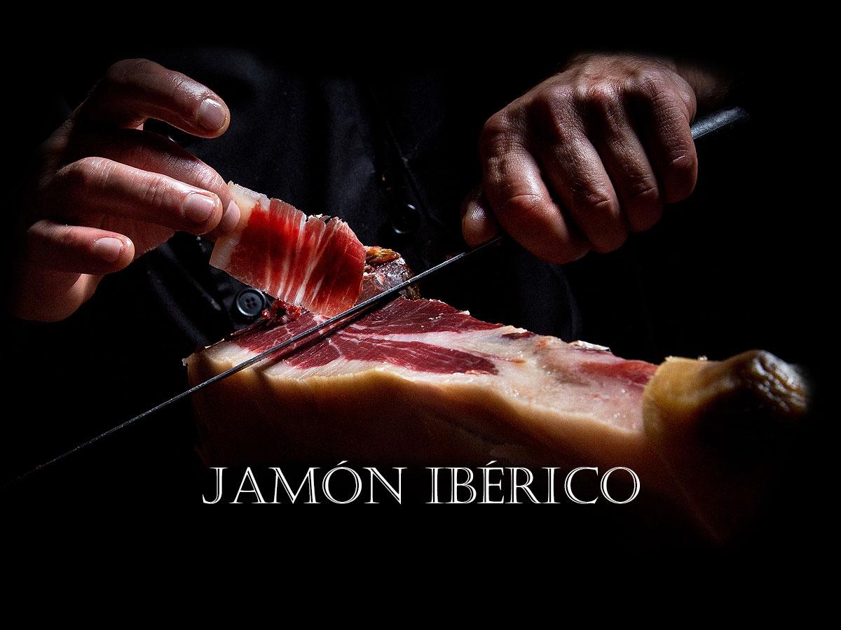 Jamón ibérico. Chef Koketo