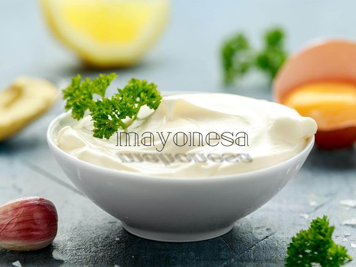 Mayonesa. Mahonesa. Chef koketo