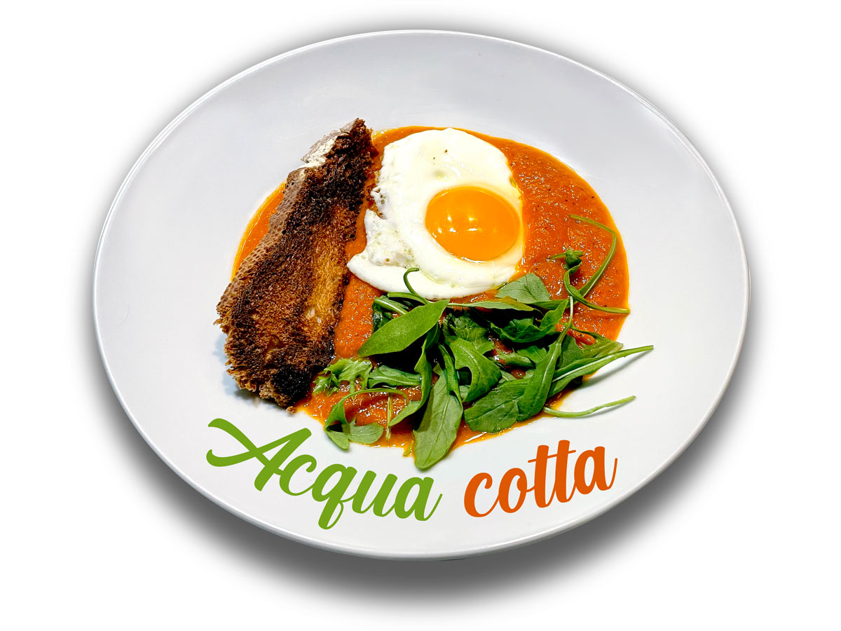 Acqua cotta. Chef koketo
